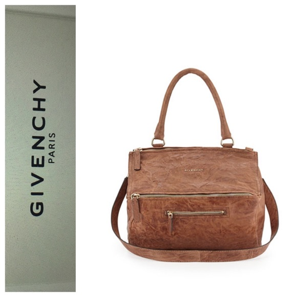 6a47e7c089 Givenchy Pandora Medium Pepe Leather Shoulder Bag